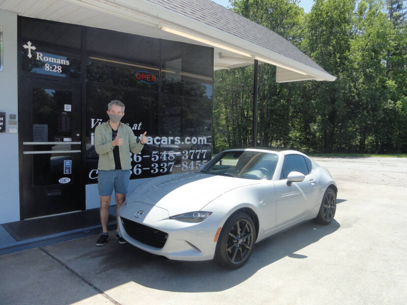 2019 Mazda MX-5 Miata RF for sale at importacar in Madison NC
