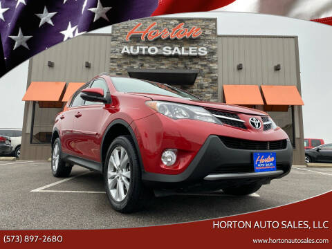 2014 Toyota RAV4 for sale at HORTON AUTO SALES, LLC in Linn MO