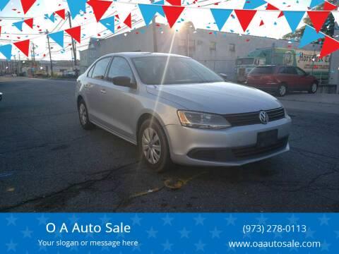 2013 Volkswagen Jetta for sale at O A Auto Sale in Paterson NJ