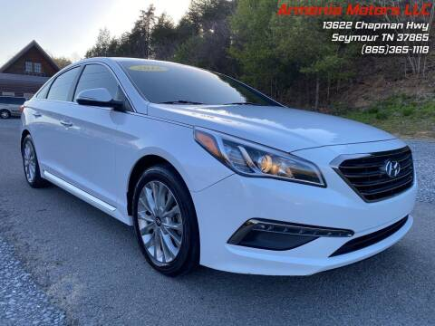 2015 Hyundai Sonata for sale at Armenia Motors in Seymour TN