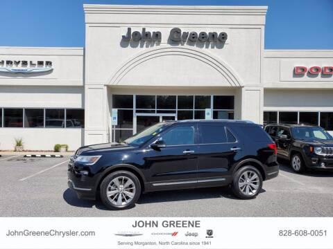 2018 Ford Explorer for sale at John Greene Chrysler Dodge Jeep Ram in Morganton NC