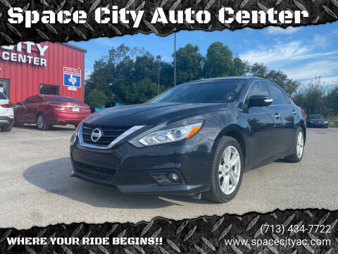 2018 Nissan Altima for sale at Space City Auto Center in Houston TX