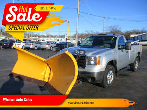 2014 GMC Sierra 2500HD for sale at Windsor Auto Sales in Loves Park IL