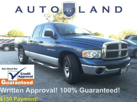 2004 Dodge Ram Pickup 1500 for sale at Auto Land in Bloomington CA