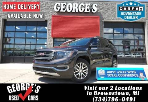 2017 GMC Acadia for sale at George's Used Cars - Telegraph in Brownstown MI