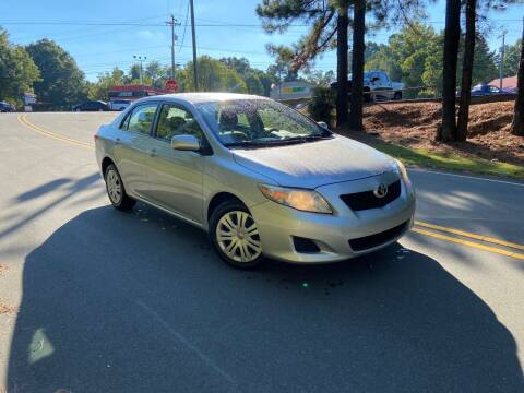 2009 Toyota Corolla for sale at THE AUTO FINDERS in Durham NC