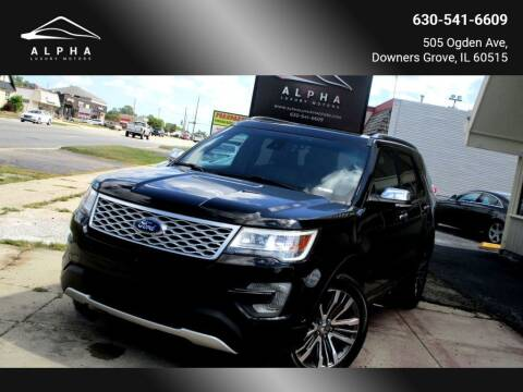 2016 Ford Explorer for sale at Alpha Luxury Motors in Downers Grove IL