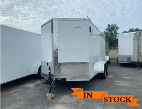 2021 Nation Craft 7 x 14 TA 2 for sale at Grizzly Trailers in Fitzgerald GA