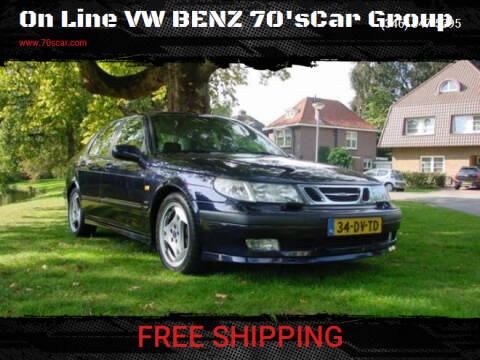 2000 Saab 9-5 for sale at On Line VW BENZ 70'sCar Group in Warehouse CA