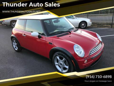2006 MINI Cooper for sale at Thunder Auto Sales in Sacramento CA