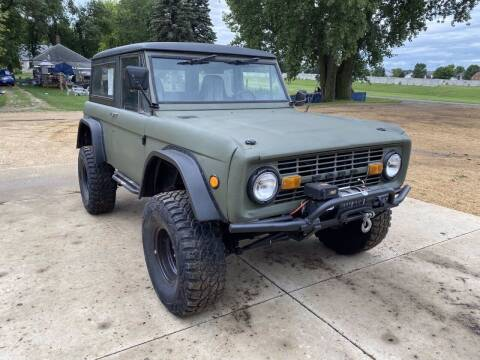 1971 Ford Bronco for sale at B & B Auto Sales in Brookings SD