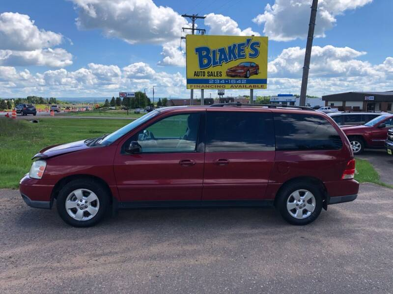 2004 Ford Freestar for sale at Blakes Auto Sales in Rice Lake WI