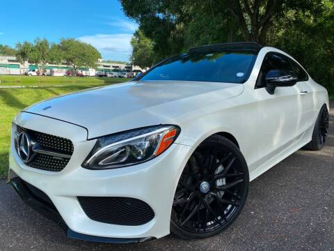 2017 Mercedes-Benz C-Class for sale at Powerhouse Automotive in Tampa FL