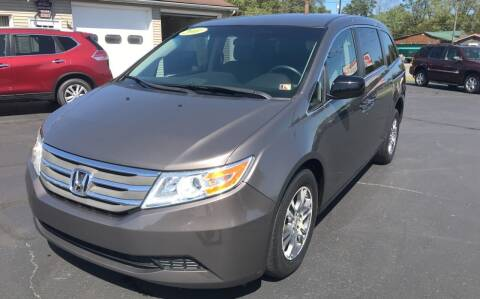 2011 Honda Odyssey for sale at Baker Auto Sales in Northumberland PA