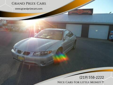 2002 Pontiac Grand Prix for sale at Grand Prize Cars in Cedar Lake IN