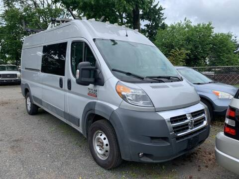 2016 RAM ProMaster Cargo for sale at Charles and Son Auto Sales in Totowa NJ