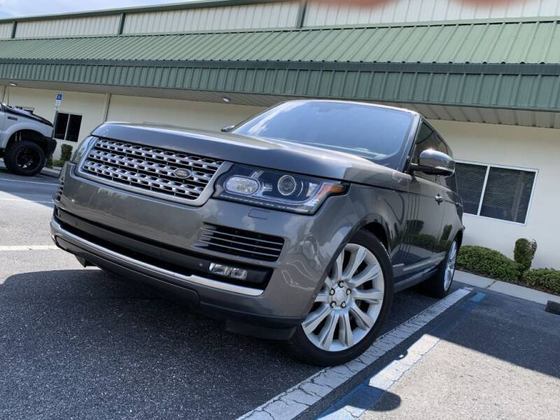 2015 Land Rover Range Rover for sale at Fisher Motor Group LLC in Bradenton FL
