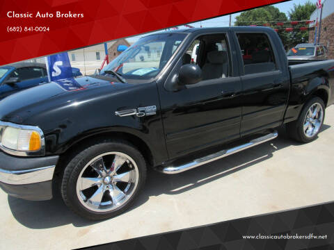 2003 Ford F-150 for sale at Classic Auto Brokers in Haltom City TX