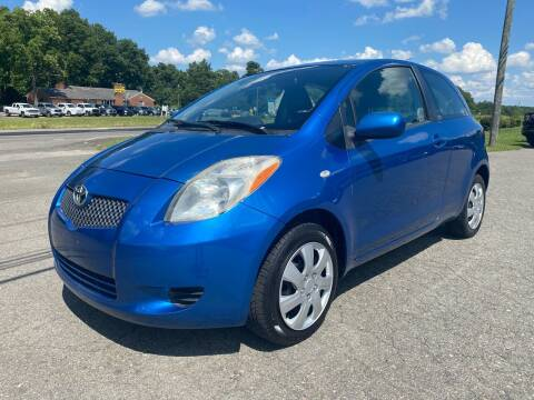 2007 Toyota Yaris for sale at CVC AUTO SALES in Durham NC