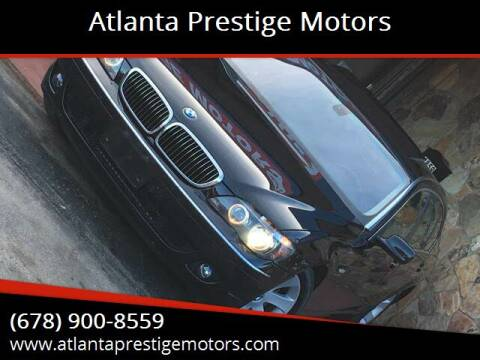 2006 BMW 7 Series for sale at Atlanta Prestige Motors in Decatur GA