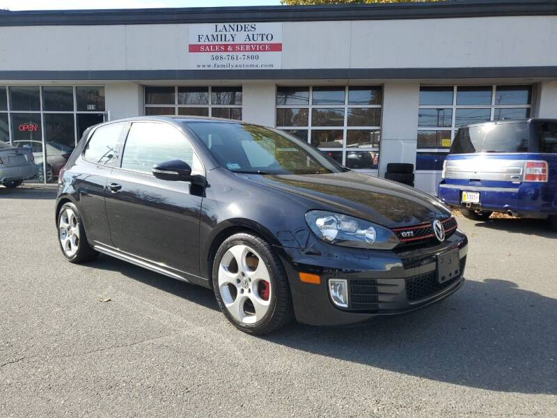2010 Volkswagen GTI for sale at Landes Family Auto Sales in Attleboro MA