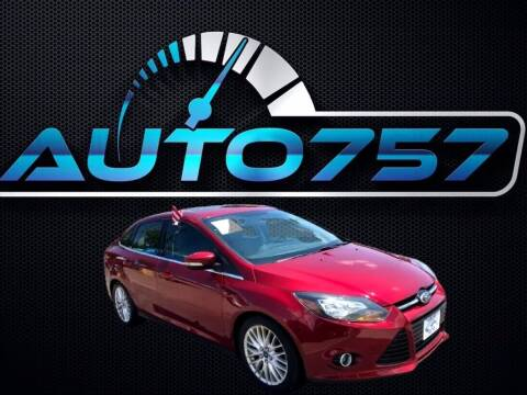 2014 Ford Focus for sale at Auto 757 - In House Finance in Norfold VA