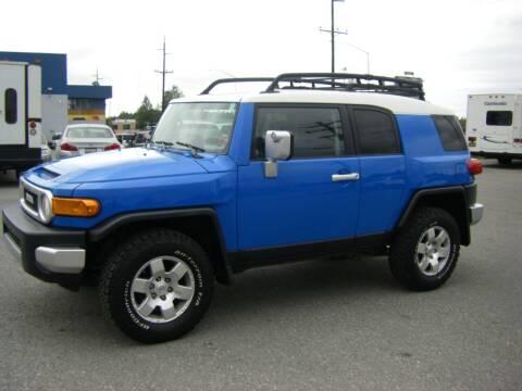 2007 Toyota FJ Cruiser for sale at NORTHWEST AUTO SALES LLC in Anchorage AK