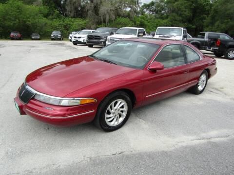 1995 Lincoln Mark VIII for sale at S & T Motors in Hernando FL