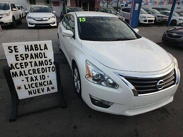 2015 Nissan Altima for sale at Cedano Auto Mall Inc in Bronx NY