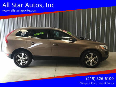 2012 Volvo XC60 for sale at All Star Autos, Inc in La Porte IN