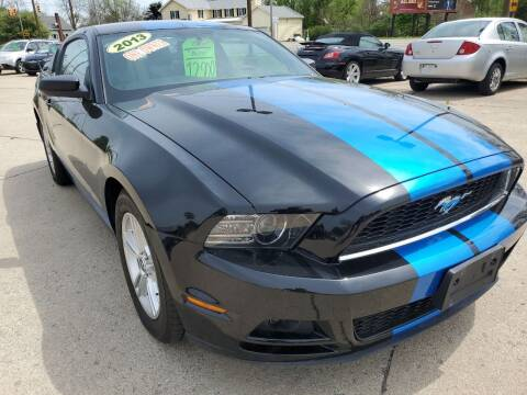 2013 Ford Mustang for sale at Kachar's Used Cars Inc in Monroe MI