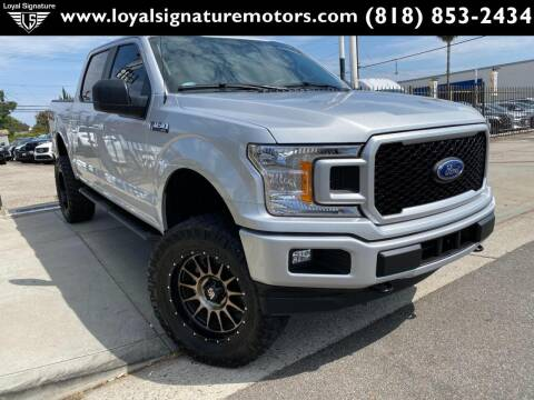 2019 Ford F-150 for sale at Loyal Signature Motors Inc. in Van Nuys CA