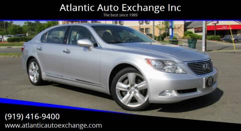 2008 Lexus LS 460 for sale at Atlantic Auto Exchange Inc in Durham NC