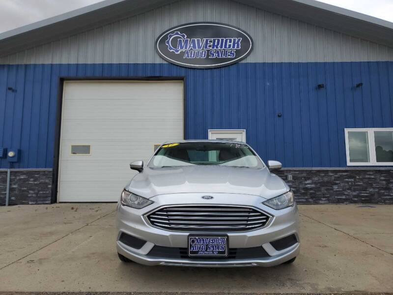 2017 Ford Fusion for sale at Maverick Automotive in Arlington MN