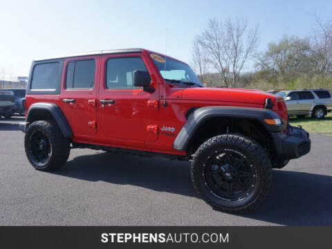 2020 Jeep Wrangler Unlimited for sale at Stephens Auto Center of Beckley in Beckley WV