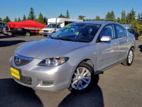 2008 Mazda MAZDA3 for sale at SS MOTORS LLC in Edmonds WA