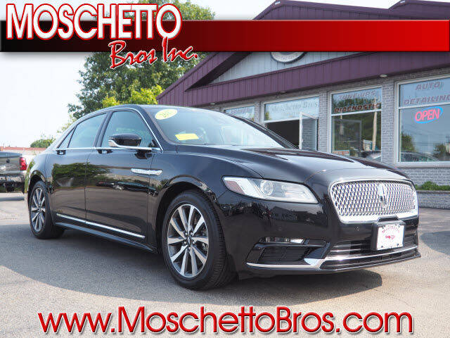 2017 Lincoln Continental for sale at Moschetto Bros. Inc in Methuen MA