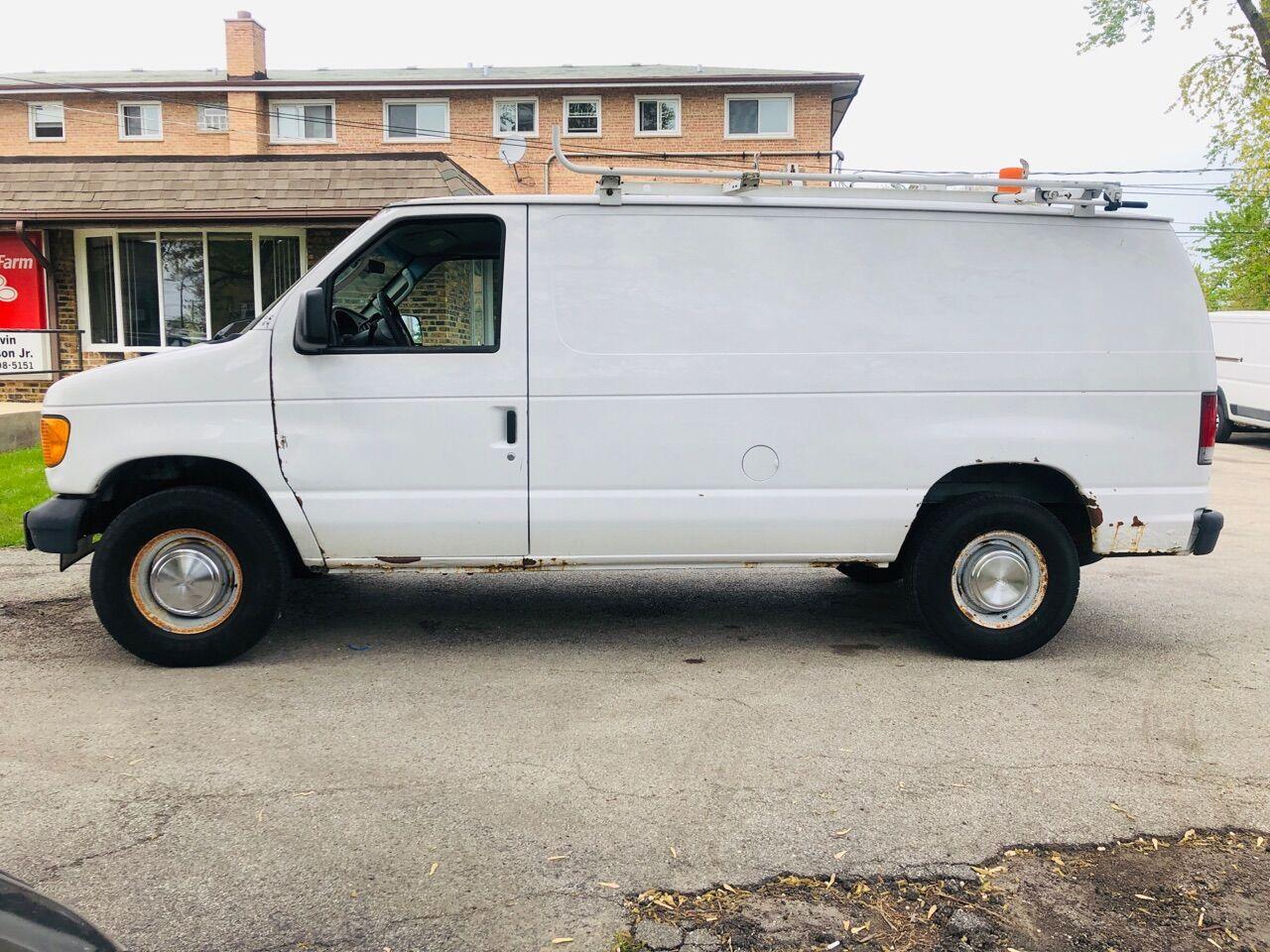 White 2006 FORD E-SERIES CARGO for sale in Bridgeview, IL