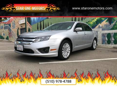 2011 Ford Fusion Hybrid for sale at Star One Motors in Hayward CA