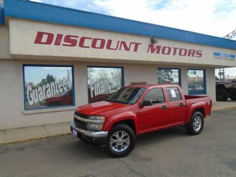 2006 Chevrolet Colorado for sale at Discount Motors in Pueblo CO