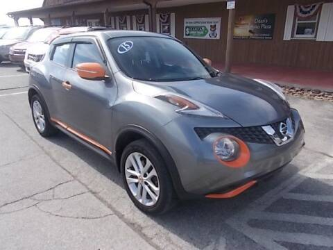 2015 Nissan JUKE for sale at Dean's Auto Plaza in Hanover PA