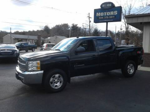 2013 Chevrolet Silverado 1500 for sale at Route 106 Motors in East Bridgewater MA