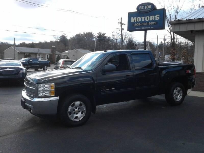 2013 Chevrolet Silverado 1500 for sale at Route 106 Motors in East Bridgewater MA