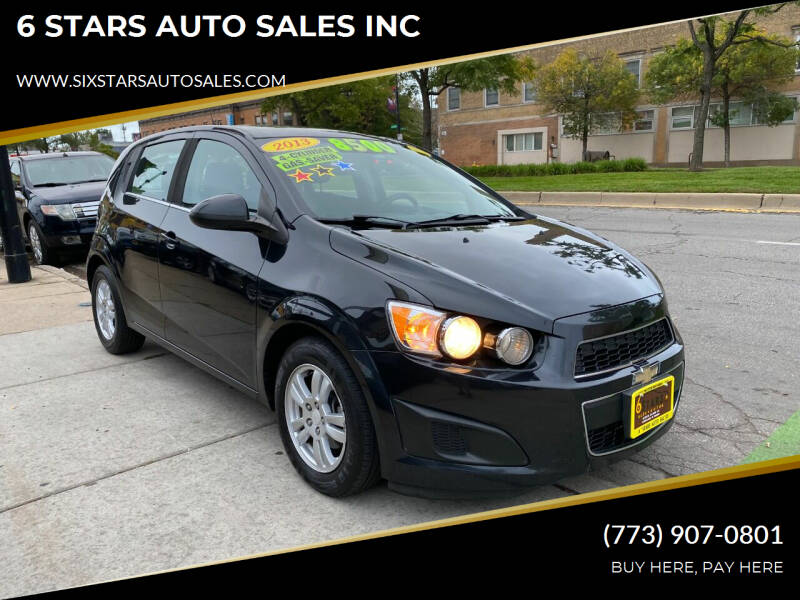 2013 Chevrolet Sonic for sale at 6 STARS AUTO SALES INC in Chicago IL