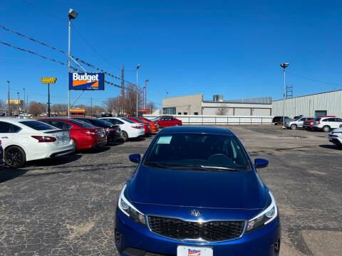 2018 Kia Forte for sale at BUDGET CAR SALES in Amarillo TX