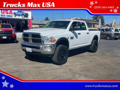 2012 RAM Ram Pickup 3500 for sale at Trucks Max USA in Manteca CA