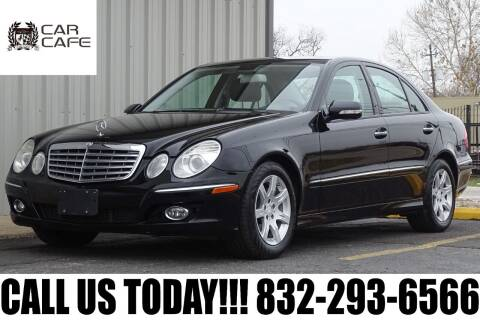 2008 Mercedes-Benz E-Class for sale at CAR CAFE LLC in Houston TX