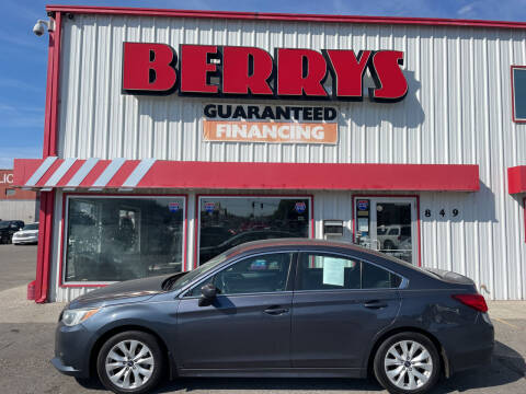 2015 Subaru Legacy for sale at Berry's Cherries Auto in Billings MT