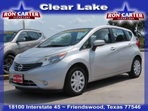2016 Nissan Versa Note for sale at Ron Carter  Clear Lake Used Cars in Houston TX