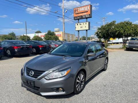 2017 Nissan Altima for sale at Autohaus of Greensboro in Greensboro NC